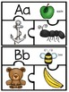 Beginning Sound Puzzles - Literacy Centers - **Freebie**