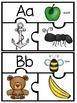 Beginning Sound Puzzles - Literacy Centers - **Freebie**