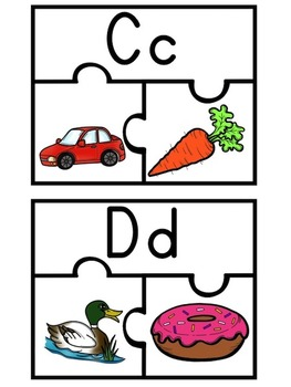 Beginning Sound Puzzles from A-Z