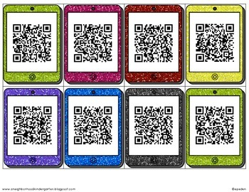 Beginning Sound QR Codes