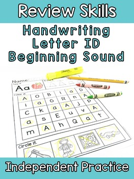 Letter ID Beginning Sound RTI