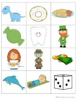 Beginning Sound Recognition: Initial Sound Board Game - DTRC (Spanish)