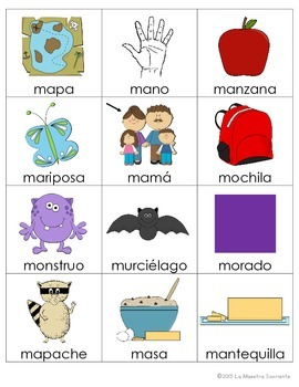 Beginning Sound Recognition: Initial Sound Board Game - MPSL (Spanish)