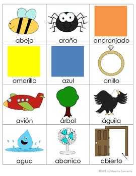 Beginning Sound Recognition: Initial Sound Board Game - Vowels AEIOU (Spanish)