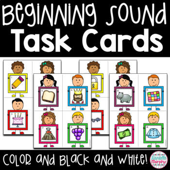 Beginning Sound Task Cards or Scoot Game
