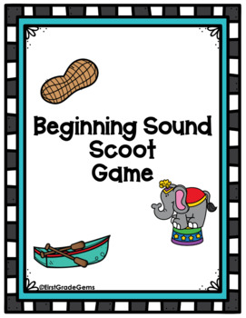 Beginning Sound Scoot Game
