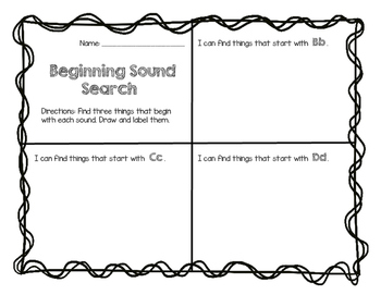 Beginning Sound Search