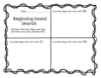 Beginning Sound Search