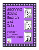 Beginning Sound Search and Color
