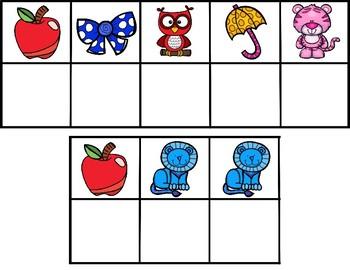 Beginning Sound Sight Word Decoder Puzzles