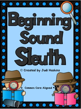 Beginning Sound Sleuth