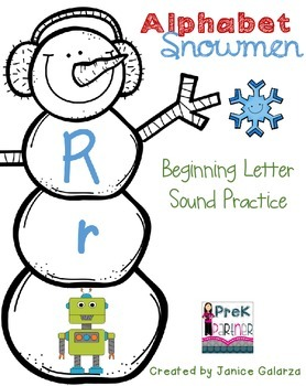Beginning Sound Snowmen!