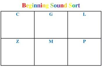 Beginning Sound Sort