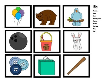 Beginning Sound Sort