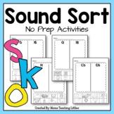 Beginning Sound Sort - Meets CCSS