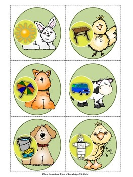 Beginning Sound Sort {Barnyard Friends}