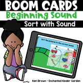 Beginning Sound Sort - Boom Cards