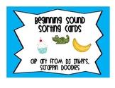 Beginning Sound Sort Cards