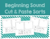 Beginning Sound Sort Cut and Paste