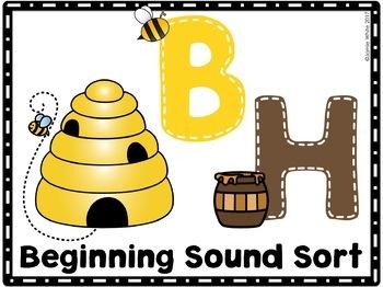 Beginning Sound Sort - FREE