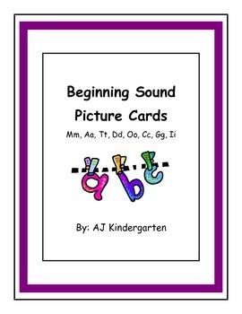 Beginning Sound Sort ELA Kindergarten Common Core Skills Unit 3