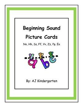 Beginning Sound Sort ELA Kindergarten Skills Unit 4