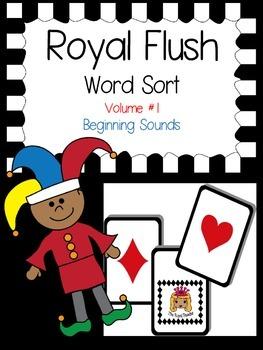 Beginning Sound Sort: Royal Flush: Volume 1