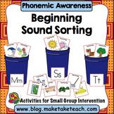 Phonemic Awareness - Beginning Sound Sorting