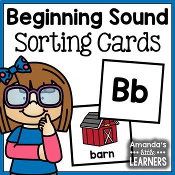 Beginning Sound Sorting Cards