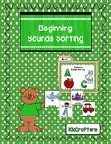 Beginning Sound Sorting Game