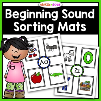 Beginning Sound Sorting Mats