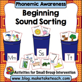 Phonemic Awareness - Beginning Sound Sorting