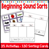 Beginning Sound Sorting Phonemic Awareness