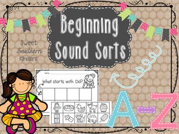 Beginning Sound Sorts A-Z