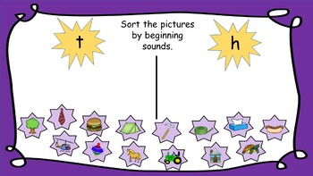 Beginning Sound Sorts (For Use In Google ClassroomTM)
