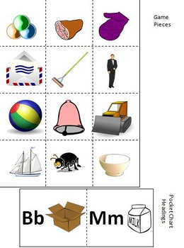 Alphabet A-Z Beginning Sound Games and Printables