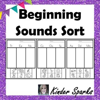 Beginning Sounds Sorting