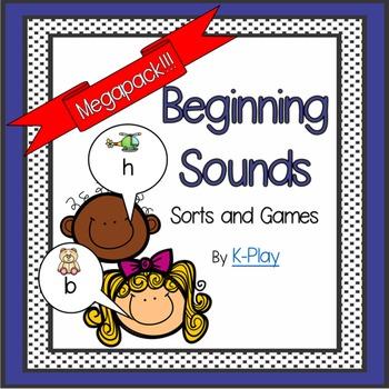 Beginning Sound Sorts and Games Mega-Pack