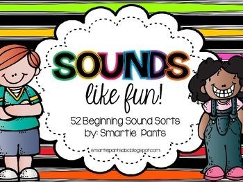 Beginning Sound Sorts for Kindergarten!