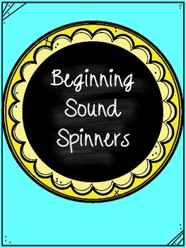 Beginning Sound Spin and Color