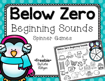 Beginning Sound Spinner Games