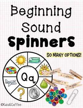 Beginning Sound Spinner Wheels