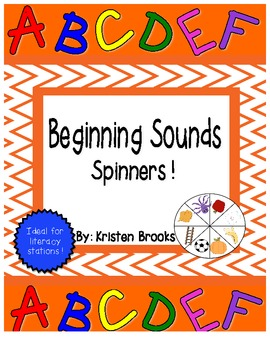 Beginning Sound Spinners