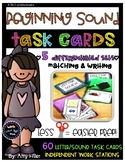 Beginning Sound Task Cards [Task Box]