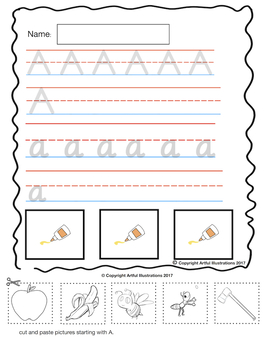 FREE - Beginning Sound - The Letter A
