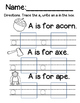 Beginning Sound Trace and Write