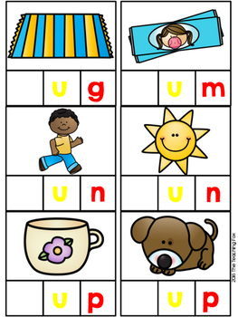 Beginning Sound Word Work With Cut and Paste