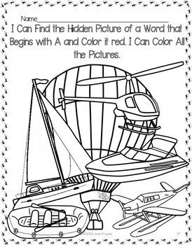 Beginning Sound Workbooks for Sounds A C N P (PreK & Kindergarten)
