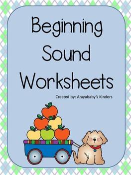 Beginning Sound Worksheets