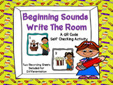 Beginning Sound Write The Room